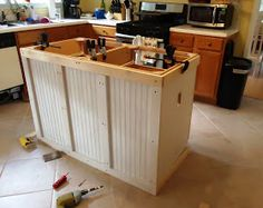 Walking U0026 Hiking To Retirement: The DIY Kitchen Island