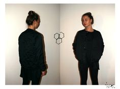 Quilted beaded bomber. Roxana Benea for Trei. endless-reflection.tumblr.com