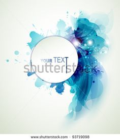 Abstract  background with blue elements by antart, via Shutterstock