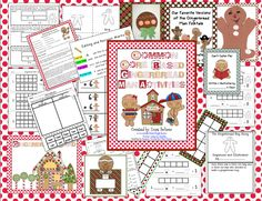 I love all versions of the gingerbread man.  Who doesn't?!  It took me forever but I finally finished my 108 page Common Core Based Gingerbr...