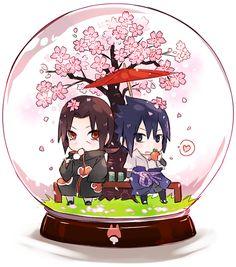 Itachi and Sasuke~ Cute Chibi ~hanyuu