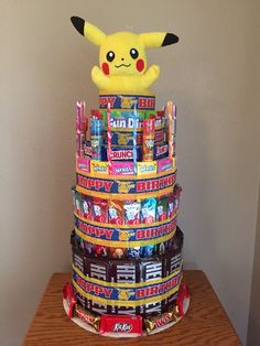 Micheal's Pokemon Cake
