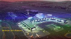 NUEVO Diseño del Edificio del Aeropuerto de Cartagena Colombia 2017
