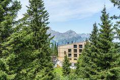 Die schönsten und speziellsten Schweizer Hotels, Herbergen und Hütten Das Hotel, Hotels, Mountains, Nature, Travel, Forest House, Swiss Guard, Hiking, Traveling
