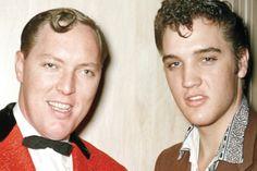 Rock & Roll pioneers Bill Haley and Elvis Presley.