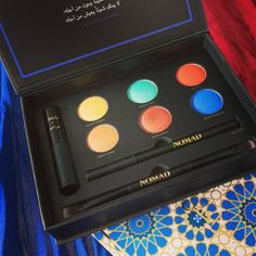 intense eyeshadow colors from our NOMAD X Marrakesh palette!