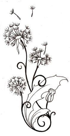 Dandelion-Tattoo-Pictures-9.jpg (236×454)