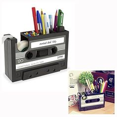 Cisixin Desk Tidy Retro Cassette Tape Dispenser Pencil Ho... https://www.amazon.ca/dp/B06Y414W2T/ref=cm_sw_r_pi_dp_U_x_pNnyAbM4DEBSS