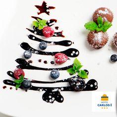 La #Navidad está presente en todos los detalles de estas fechas y por supuesto en los platos que servimos cada día en nuestro #buffet