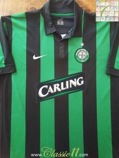 Relive Celtic's 2006/2007 season with this original Nike away football shirt.