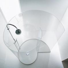 Chiocciola by Agape  free-standing Spiral shower
