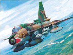 Sukhoi Su-17M4 «Amarillo 27» cazabombardero soviético de la guerra fría, última versión de este aparato.  http://www.elgrancapitan.org/foro/viewtopic.php?f=68&p=892995#p892986