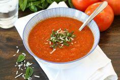 Herfstgerecht: Tomaten basilicum soep - Wat zij zegt