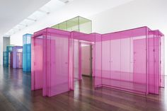 """One of my favourite artist's Do Ho Suh at Victoria Miro's Whard Road space opened last week and will be on until the 18 March.  He said """"I see life as a passageway, with no fixed beginning or destination. We tend to focus on the destination all the time and forget about the in between spaces""""."""