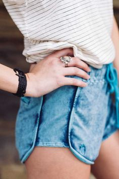 Coast Shorts Seafoam | Pura Vida Bracelets