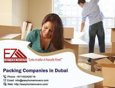Packing Companies, Packing Services, Companies In Dubai, House Movers, Let It Be, Easy