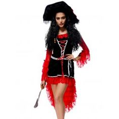 SHARE & Get it FREE | Halloween Adult Pirate Cosplay DressFor Fashion Lovers only:80,000+ Items • FREE SHIPPING Join Twinkledeals: Get YOUR $50 NOW!