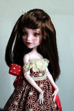 https://flic.kr/p/Vb92Yw | Lily - custom OOAK Monster High Doll repaint | www.etsy.com/uk/listing/534640801/lily-custom-ooak-monste...