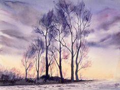 Violet landscape by mashami on DeviantArt