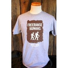 TAH T-Shirt: Free Range Human
