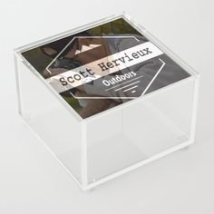 "Transparency is key. (In this moment, we're talking transparent storage but probably good advice for life in general.) Our acrylic boxes are the perfect storage place for all the little things you never have a spot for: Q-Tips, jewelry or spices even—three things you've probably never thought about at the same time before. - Size: 4"" x 4"" x 2.5"" - Artwork featured on top of box - Includes feet to avoid scratching surfaces - Every order... Good Advice For Life, Storage Places, Acrylic Box, Decorative Boxes, Spices, In This Moment, Key, Tips, Artwork"