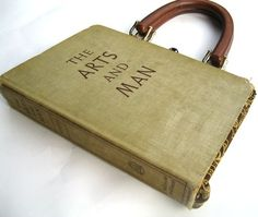 Book purse, i want to make one just like this! great idea for those old books!