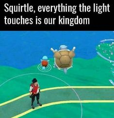 Squirtle king
