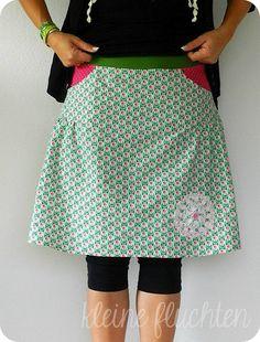 valeska skirt pattern youpi http://www.farbenmix.de/shop/Schnittmuster/Damen/VALESKA-Schnittmuster::9518.html