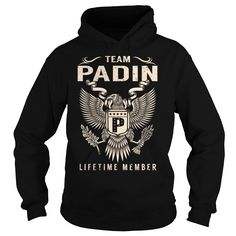 (Tshirt Cool Discount) Team PADIN Lifetime Member Last Name Surname T-Shirt Teeshirt of year Hoodies Tees Shirts