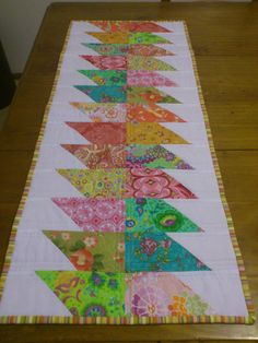 quilted table runner patterns free easy | straight lined quilted it... so simple yet so effective.