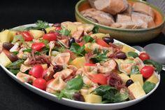 Broileri-pastasalaatti                                                   Celebration Treats 4U: Arkiruokaa