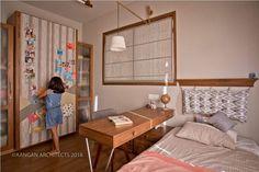 OWN HOUSE – Aangan Architects Home Design Floor Plans, Home Room Design, Home Interior Design, Interior Ideas, Interior Architecture, Ethnic Home Decor, Indian Home Decor, Indian Home Interior, Wardrobe Design Bedroom