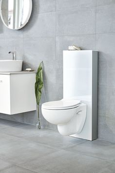 Svedbergsin uusi WC-moduuli on täällä Toilet, Bathroom, Home Decor, New Girl, Modern, Corning Glass, Washroom, Flush Toilet, Decoration Home