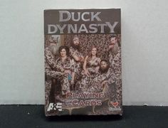 Duck Dynasty Playing Cards A&E Duck Commander