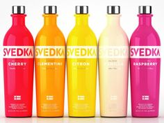 Svedka flavored vodka