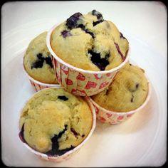 Berrylicious homemade...Banana Blueberry Muffins