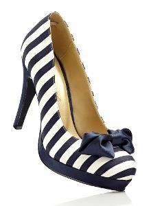 Damen Pumps in blau von bonprix | Schuhe-Shoporo