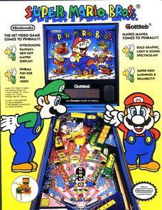 http://pinvids.blogspot.com.au/ Rod's Pinball Video Blog: 1992 Gottlieb Super Mario Bros