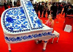 porcelain piano