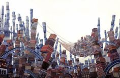 Sir John Lawes Art Faculty: Apart And Or Together Edexcel GCSE 2015 Amy Casey impossible buildings and cityscapes
