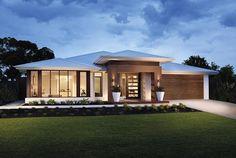 """Képtalálat a következőre: """"australian display homes"""" Bungalow House Design, Modern House Design, One Storey House, House Construction Plan, Architectural House Plans, Home Building Design, Melbourne House, Dream House Exterior, New House Plans"""