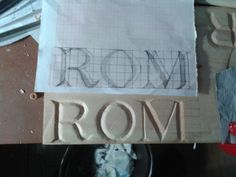 Roman WoodCarving
