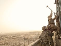 Mark Neville spent two months with 16 Air Assault Brigade in Helmand province as an official war artist