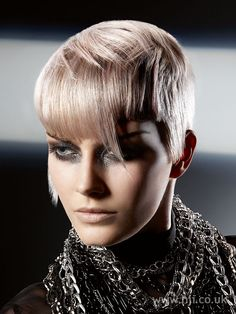 blonde angular hairstyle - Hairstyle Gallery ☆☆