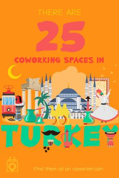 Looking for a coworking space in Turkey? Coworker.com has your back. Here you can search for a space near you, see pictures, read reviews and even book a day pass to test the space out. | Coworking Turkey, Shared Office Space, Digital Nomads Turkey