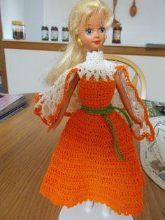 Crochet Skipper Fashion Halloween Dressup Doll Included | eBay