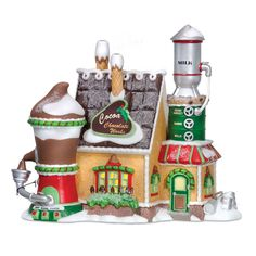 Amazon.com - Department 56 North Pole Cocoa Chocolate Works - Holiday Collectible Buildings