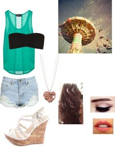 """""""Carnival Date!"""" by kathrynkenney ❤ liked on Polyvore"""