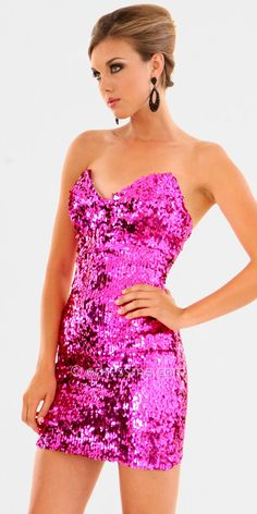 Shop pink prom dresses and short pink homecoming dresses at PromGirl. Light pink prom dresses, dark pink dresses, blush pink dresses, and hot pink dresses for prom and special occasions. Pink Sequin, Sequin Dress, Pink Dress, Nye Dress, Dress Night, Sexy Dresses, Beautiful Dresses, Short Dresses, Formal Dresses
