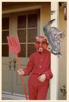 Fundamental evangelists would never let their kids dress up like the Devil, but they would let them discriminate against others, in the name of religion.